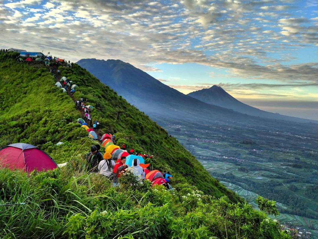 misteri gunung Andong
